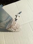 Ніж з дамаска з костяною ручкою.,,Молот Тора,,, фото №7
