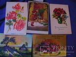 6 дореволюционных иностранных  открыток, фото №6