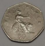 Велика Британія 50 пенсів, 1997