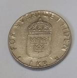 Швеція 1 крона, 1980 фото 2