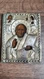 Икона Святого Николая 19 век, фото №8