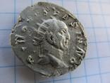 Реституционный антониниан Траяна Деция в честь Божественного Веспасіана., фото №2