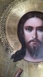 Икона Спаситель в окладе  Киевской Мариинской общины Красного Креста от єпископа, фото №5