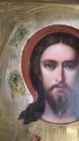 Икона Спаситель в окладе  Киевской Мариинской общины Красного Креста от єпископа, фото №10