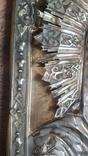 Икона Казанская Богородица в серебре 84* финифти, фото №6