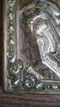 Икона Казанская Богородица в серебре 84* финифти, фото №9