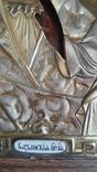 Икона Казанская Богородица в серебре 84* финифти, фото №11