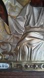 Икона Казанская Богородица в серебре 84* финифти, фото №12