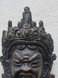 Старинная бронзовая(красная бронза) скульптура Тибетская, фото №8