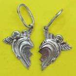 Кулони Ангели Срібло 925 2,38 грам., фото №2