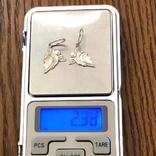 Кулони Ангели Срібло 925 2,38 грам., фото №4