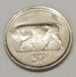Ірландія 5 пенсів, 1998