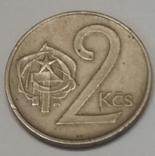 Чехословаччина 2 крони, 1974