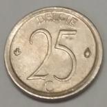 Бельгія 25 сантимів, 1968 фото 2