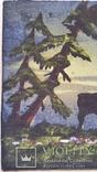 Картина, тканина, картон, акварель,  22х25,5 см, фото №3