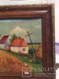 Картина сільській пейзаж., фото №7