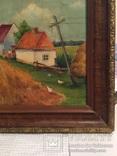 Картина сільській пейзаж., фото №8