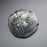 Индия, Синд, королевство Гурджура, AR драхма (ок. 570-712 гг), фото №2