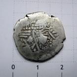 Индия, Синд, королевство Гурджура, AR драхма (ок. 570-712 гг), фото №4