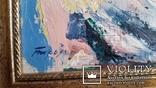 """Троян Г.П. """"Вид на Ельбрус"""", 1980р., 50х60см, фото №3"""