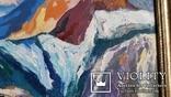 """Троян Г.П. """"Вид на Ельбрус"""", 1980р., 50х60см, фото №4"""