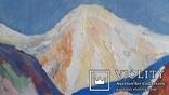 """Троян Г.П. """"Вид на Ельбрус"""", 1980р., 50х60см, фото №5"""