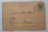 Открытка Германская империя 1899 г., фото №5