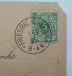 Открытка Германская империя 1899 г., фото №6