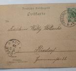 Открытка Германская империя 1899 г., фото №7