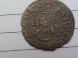 Солид 1621г Сигизмунд III , г Рига, фото №2