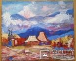 """Троян Г.П. """"Карпати"""", 1995р., 50х60 см, фото №2"""