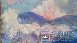 """Троян Г.П. """"Карпати"""", 1995р., 50х60 см, фото №4"""