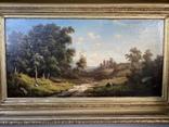 Пейзаж, Западный художник; романтизм, фото №3