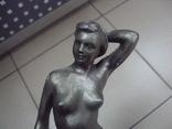 Фигура девушка ню обнаженная шпиатр ленинград скульптура, фото №8