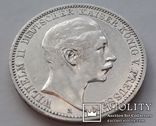 3 марки 1911г.Вильгельм2  Пруссия, фото №6