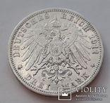 3 марки 1911г.Вильгельм2  Пруссия, фото №7