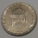 Швеція 1 крона, 1991 фото 2