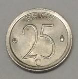 Бельгія 25 сантимів, 1971