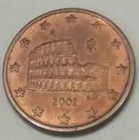 Італія 5 євроцентів, 2002
