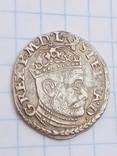 Трояк Стефана Батория 1584 года, м.д. Олькуш R7, фото №4