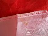 Платок розовый, 72х72 см., не носился СССР, фото №4