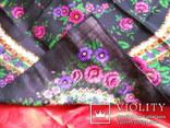 Платок 97х97 см., шерсть или полушерсть, фото №4
