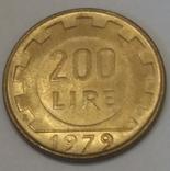 Італія 200 лір, 1979