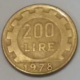 Італія 200 лір, 1978