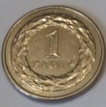 Польща 1 злотий, 2013