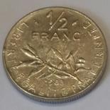 Франція ½ франка, 1983