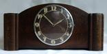 Каминные часы с боем Junghans 1934 г. W278 Германия., фото №2