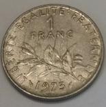 Франція 1 франк, 1975