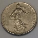 Франція 1 франк, 1975 фото 2
