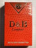 Сигареты D & B Comfort RED NEW